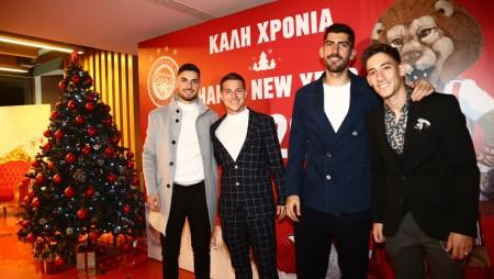 H Χριστουγεννιάτικη γιορτή των «ερυθρόλευκων» στο «Γ. Καραϊσκάκης»! (photos)