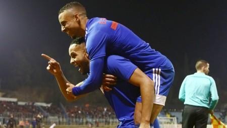 Η χαρά του Γκασπάρ για τη νίκη στη Λαμία! (photo)