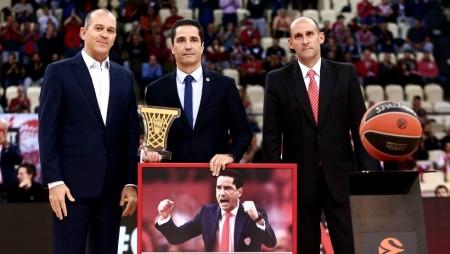 Σφαιρόπουλος: «Ο Ολυμπιακός για πάντα στην καρδιά μου»