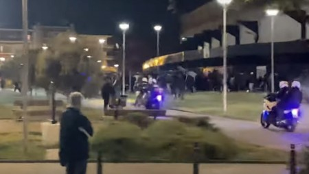 Πλακώνονται εν μέσω καραντίνας οι ΠΑΟΚτζήδες!!! (video)