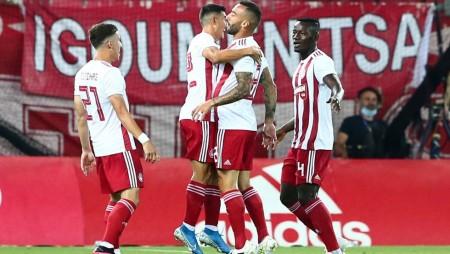 ΟΛΥΜΠΙΑΚΟΣ-ΠΑΟΚ 2-0 (Τελικό)