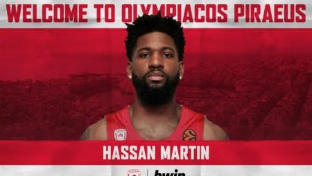 Και επίσημα στον Ολυμπιακό ο Μάρτιν!