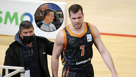 Πρωταγωνιστής ξανά ο Αναστόπουλος στο ΟΑΚΑ! Απέβαλλε τον Αγραβάνη!