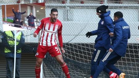 «Τρελάθηκε» και ο Μαρινάκης στο γκολ του Χασάν! (video)