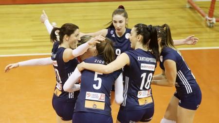 Επιστροφή με νίκη για τα κορίτσια του Ολυμπιακού