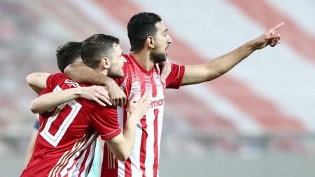 ΑΕΛ-Ολυμπιακός 1-3 (Τελικό)