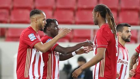 Ολυμπιακός-ΠΑΣ Γιάννινα 3-1 (Τελικό)
