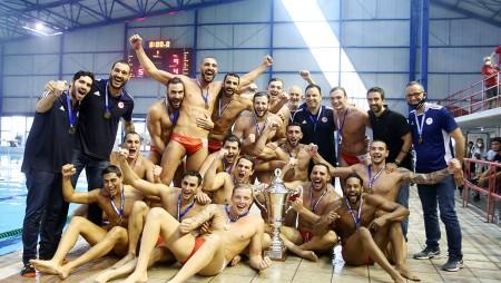 Η ΠΑΕ συνεχάρη το Πόλο Ανδρών για την κούπα (photo)