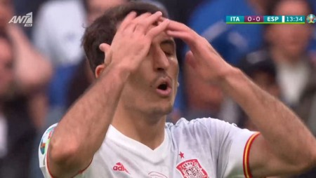 Euro 2020   Ιταλία-Ισπανία: Το... δοκάρι και το λάθος κοντρόλ (videos)