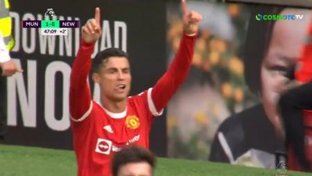 Η επιστροφή του Ρονάλντο στο «Old Trafford» και το πρώτο γκολ! (video)
