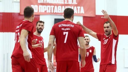 Ολυμπιακός - Μλάντοστ Μπρτσκο 3-0 σετ (Τελικό)