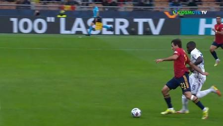 Ισπανία - Γαλλία: 1-1 μέσα σε μερικά δευτερόλεπτα! (videos)