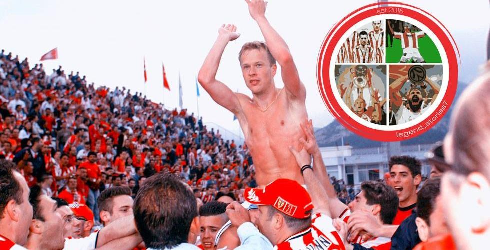 Ζέτερμπεργκ: «Περήφανος για τον Ολυμπιακό!»
