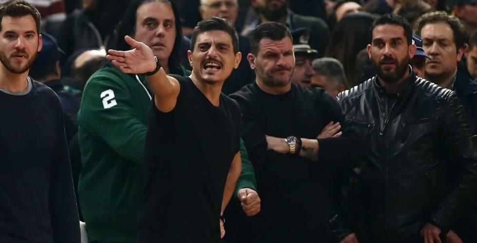 Γιαννακόπουλος σε Υπ. Ασφαλείας Ευρωλίγκας: «Άντε γαμ…σου, φύγε από δω»!