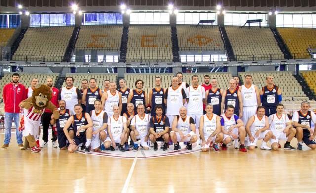 Προσφορά αγάπης από τον μπασκετικό Ολυμπιακό στο σύλλογο «Φλόγα» (pics)