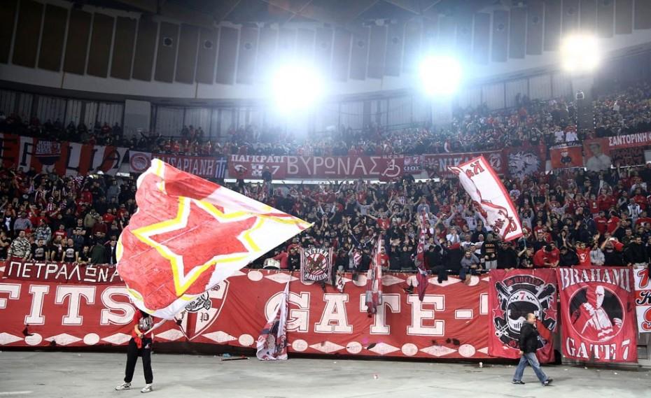 Από την Πέμπτη (16/11) τα εισιτήρια για το ματς με τον Ερυθρό Αστέρα