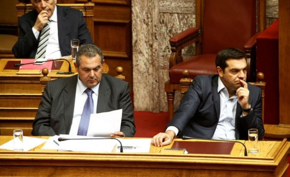 ΝΔ για Καμμένο: Άφωνος ο Τσίπρας επί εννέα ημέρες