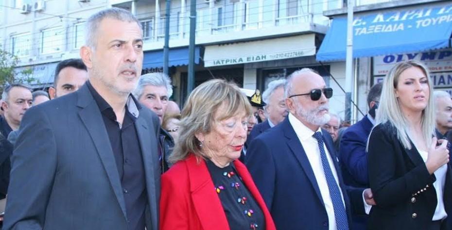 Με λαμπρότητα πραγματοποιήθηκε σήμερα στον Πειραιά ο εορτασμός του Πολιούχου Άγιου Σπυρίδωνα