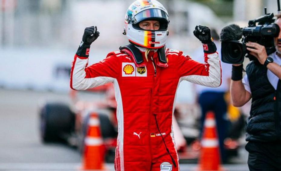 Τρίτη pole position για τον Φέτελ