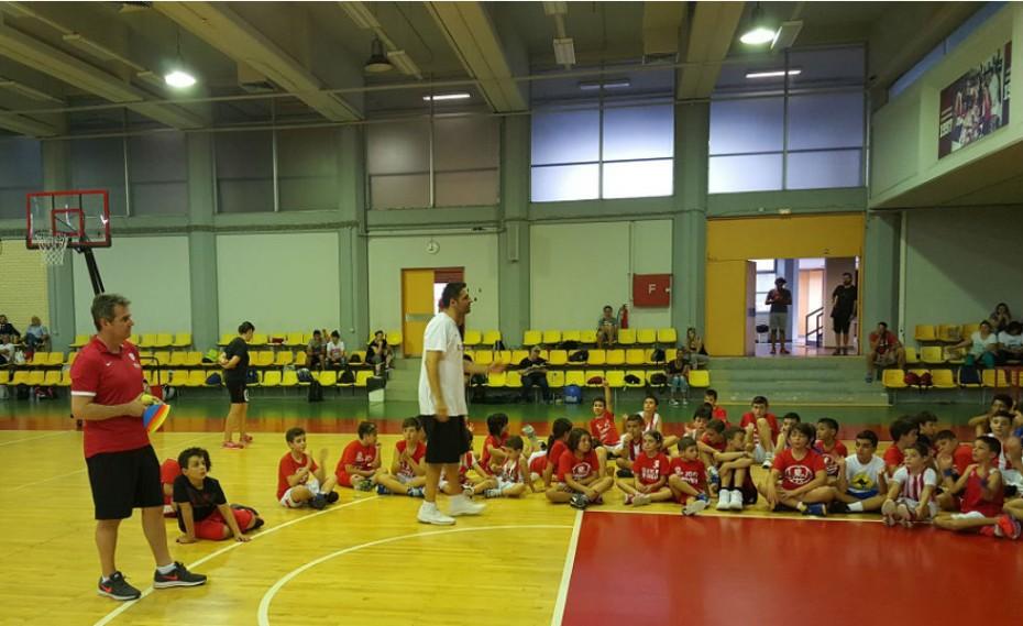 Στο Summer Camp του Ολυμπιακού ο Γκατζούλης