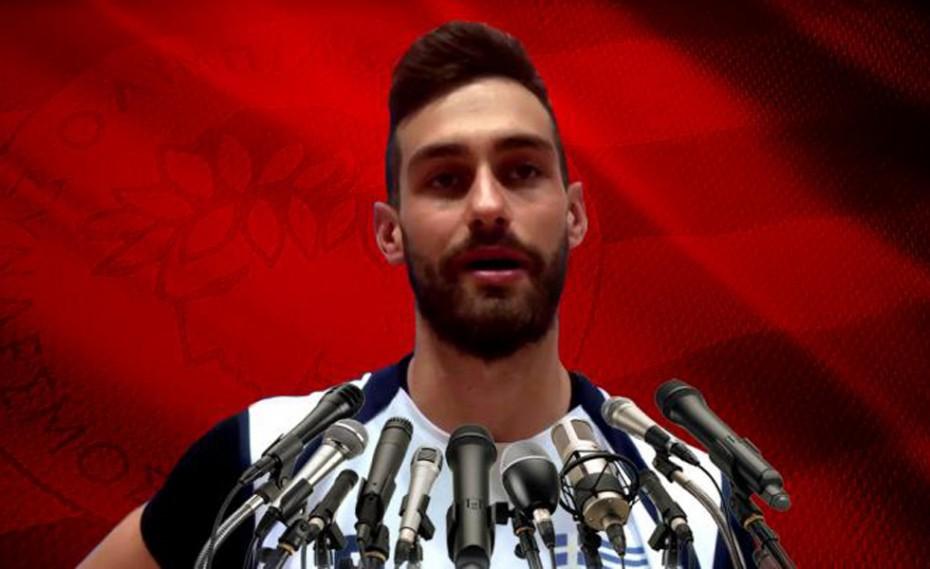 «Τιμή μου που θα αγωνιστώ στον Ολυμπιακό»