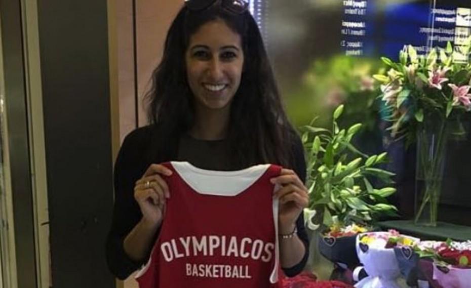 Στην Ελλάδα για τον Ολυμπιακό η Ρίτα Ρασίντ (pic)
