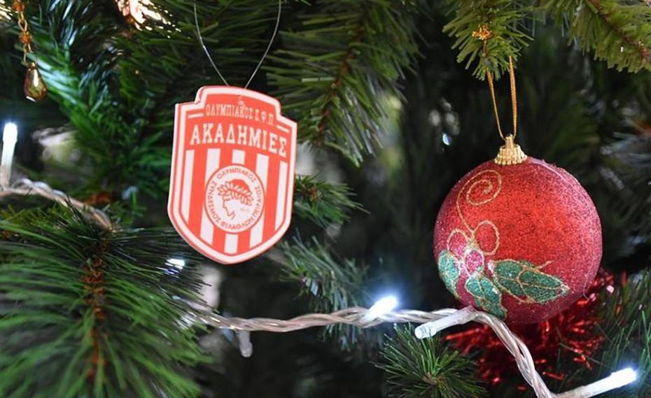 Ο στολισμός του Χριστουγεννιάτικου Δένδρου των Ακαδημιών