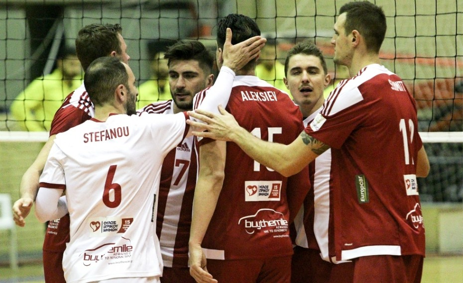 Μπουργκάς - ΟΛΥΜΠΙΑΚΟΣ 3-1 σετ (τελικό)