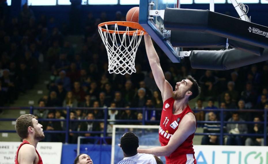MVP της 14ης αγωνιστικής στην Α1 ο Μιλουτίνοφ!
