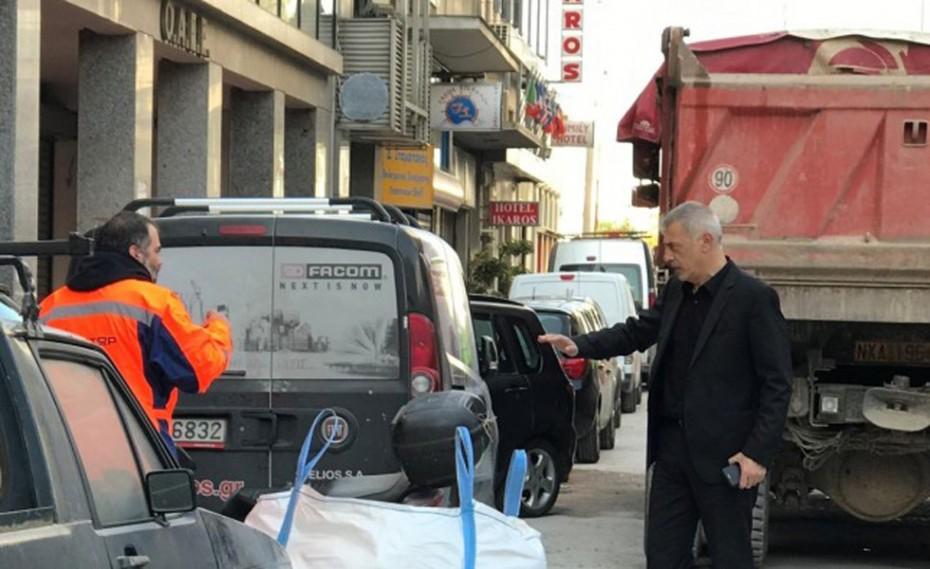 Μώραλης: Στόχος μας η βελτίωση των κοινόχρηστων χώρων της πόλης μας