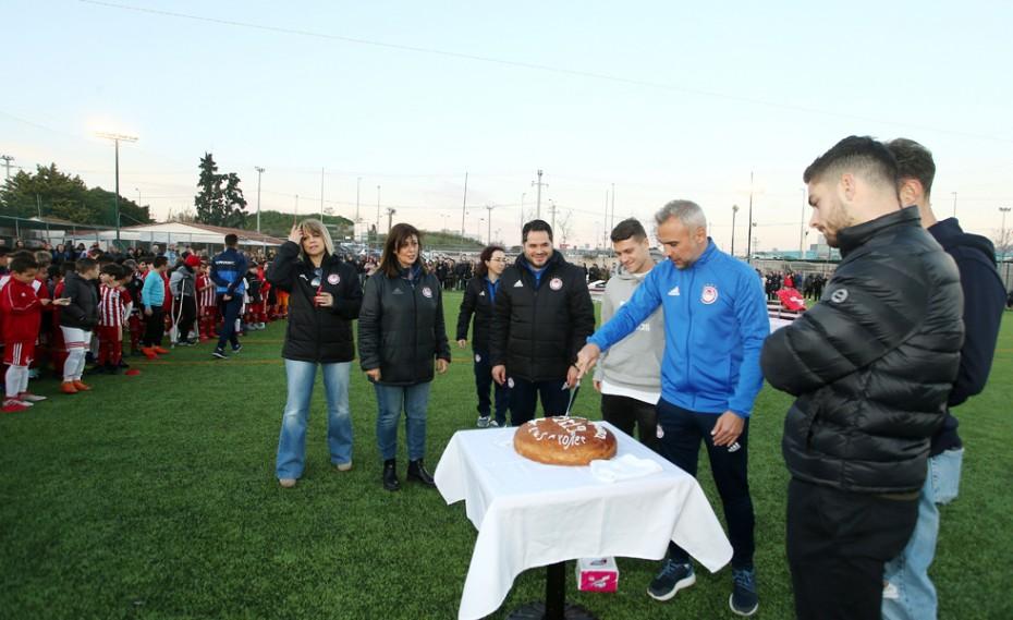 Έκοψε την πίτα του το μέλλον του Ολυμπιακού! (pics)
