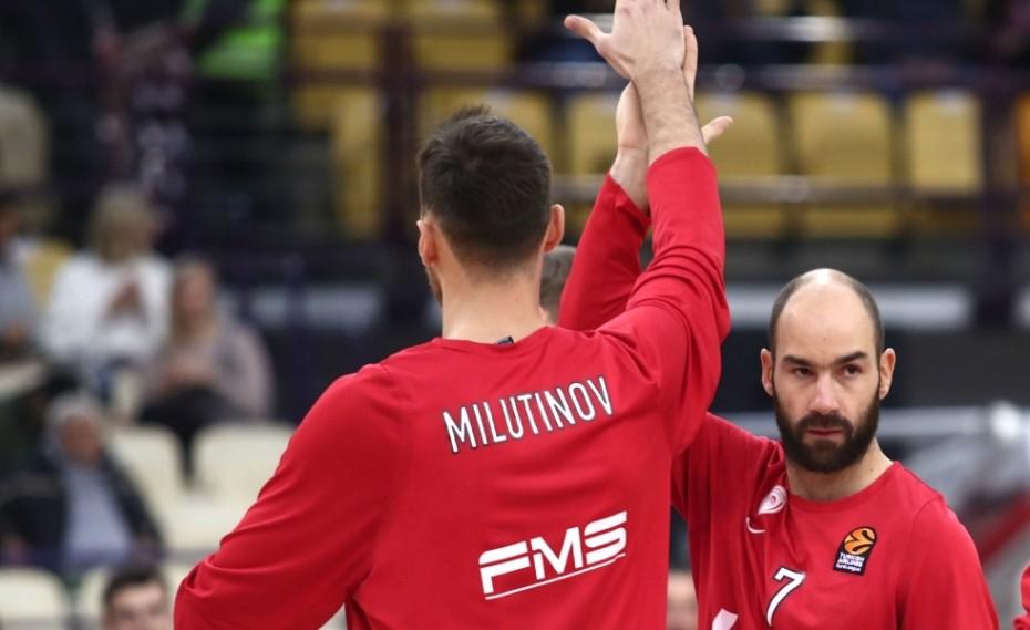 Ο Σπανούλης πέρασε τον Μπατίστ και ο Μιλουτίνοφ τον Φορντ!
