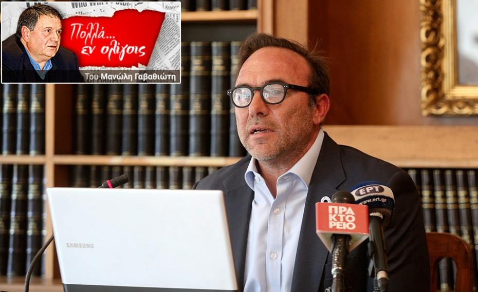 «Άντε γεια» για πάντα στον Ολυμπιακό και τις πολιτικές του φιλοδοξίες
