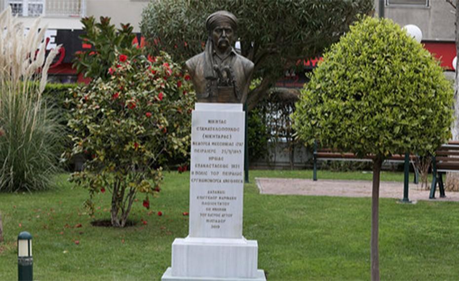 Στις 23 Μαρτίου τα αποκαλυπτήρια της προτομής του Νικηταρά στον Πειραιά