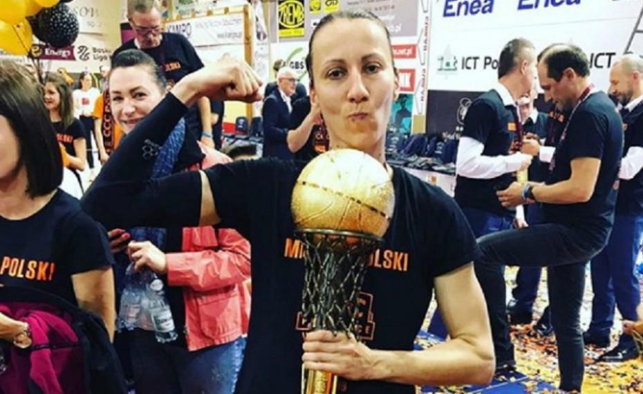 Πρωταθλήτρια Πολωνίας η Καλτσίδου