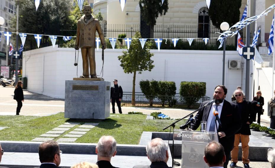 Δωρεά του Β. Μαρινάκη το μνημείο του αφανούς Ναυτικού (pics)