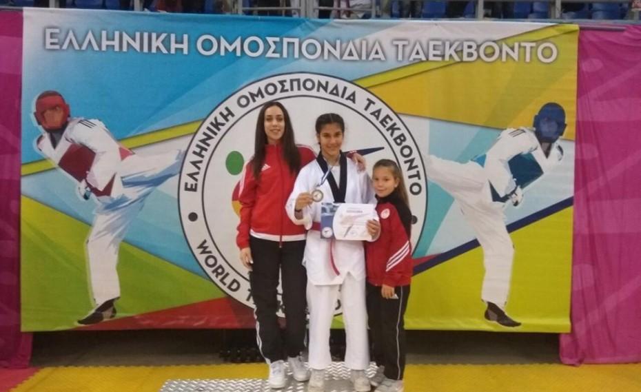 Δεύτερο μετάλλιο στο Κύπελλο Ακρόπολης