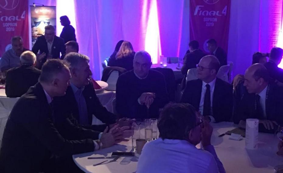Συνάντηση Λεριώτη και Φασούλα με κορυφαία στελέχη της FIBA