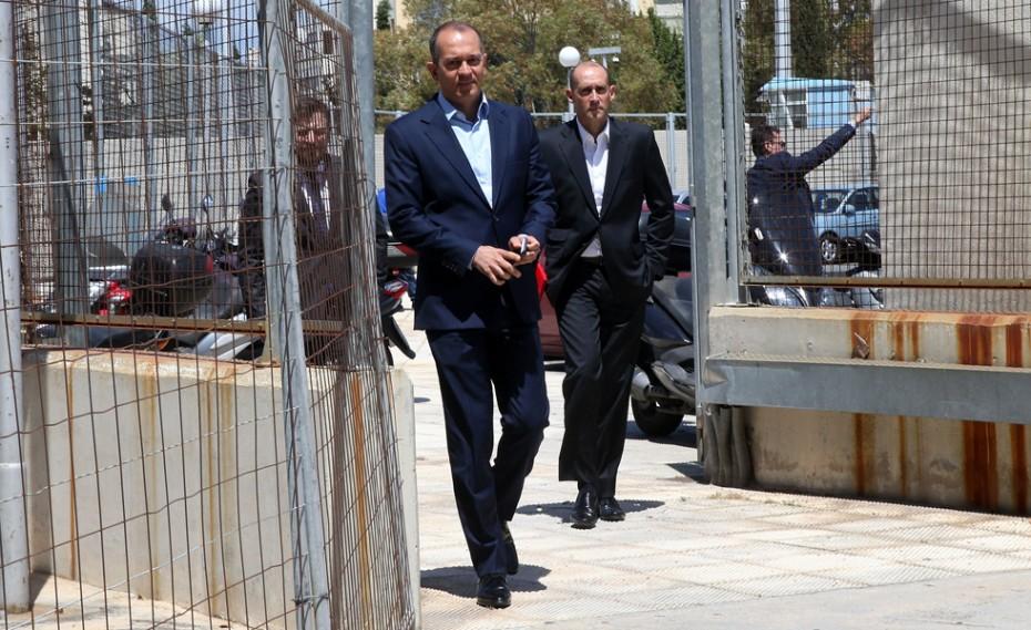 Στη Γενική Συνέλευση του ΕΣΑΚΕ οι Παναγιώτης και Γιώργος Αγγελόπουλος (vid)