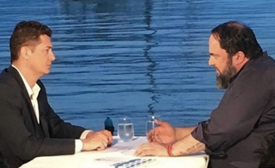 Ο Βαγγέλης Μαρινάκης σε τηλεοπτική συνέντευξη στην «Αυτοψία»