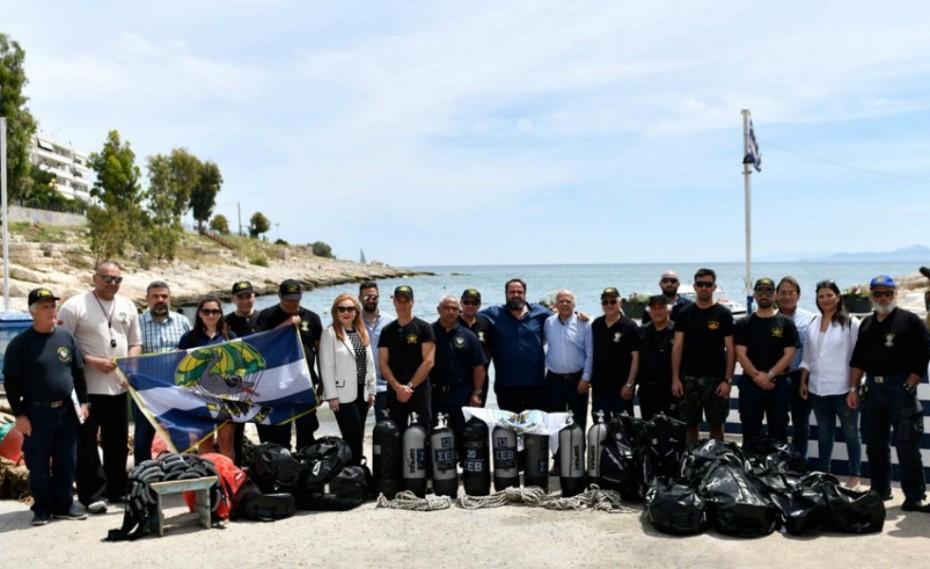 Παρουσία Μαρινάκη και Μώραλη η εκδήλωση του Συνδέσμου Βατραχανθρώπων