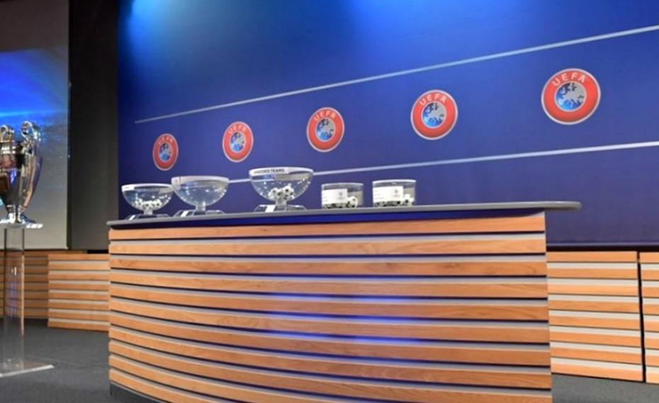 Η εικόνα των γκρουπ του UEFA Champions League