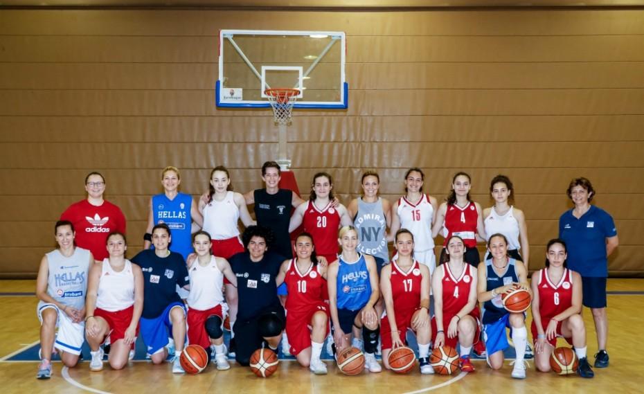Ένα ξεχωριστό διήμερο με την εθνική μπάσκετ Κωφών Γυναικών!