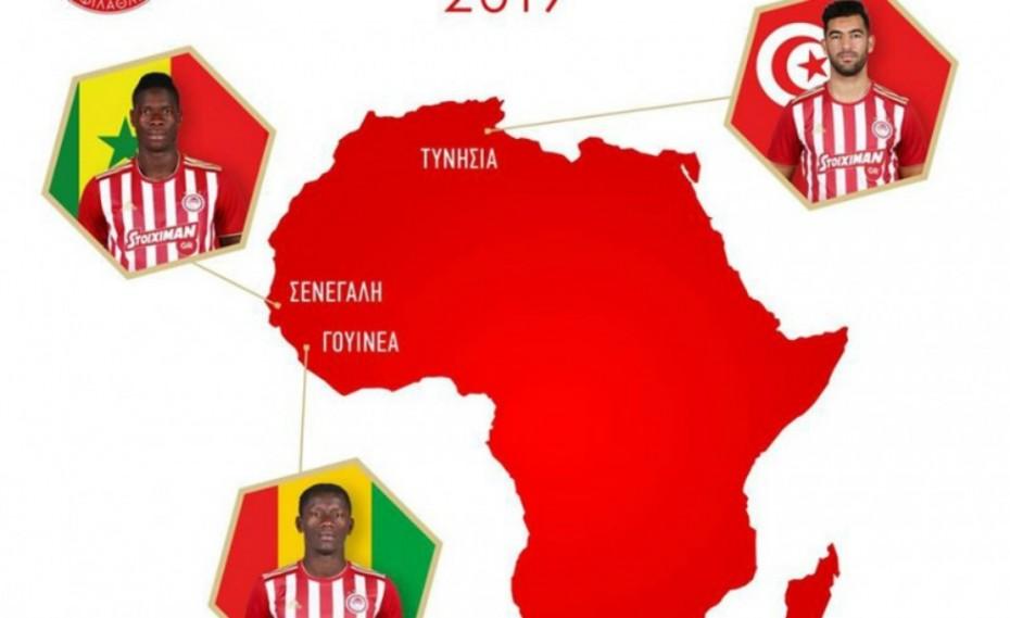 «Καλή επιτυχία στο Κύπελλο Εθνών Αφρικής» (pic)