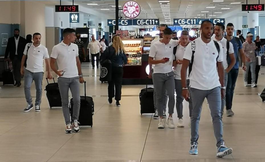 Έφτασε στην Τσεχία ο Ολυμπιακός! (pic)