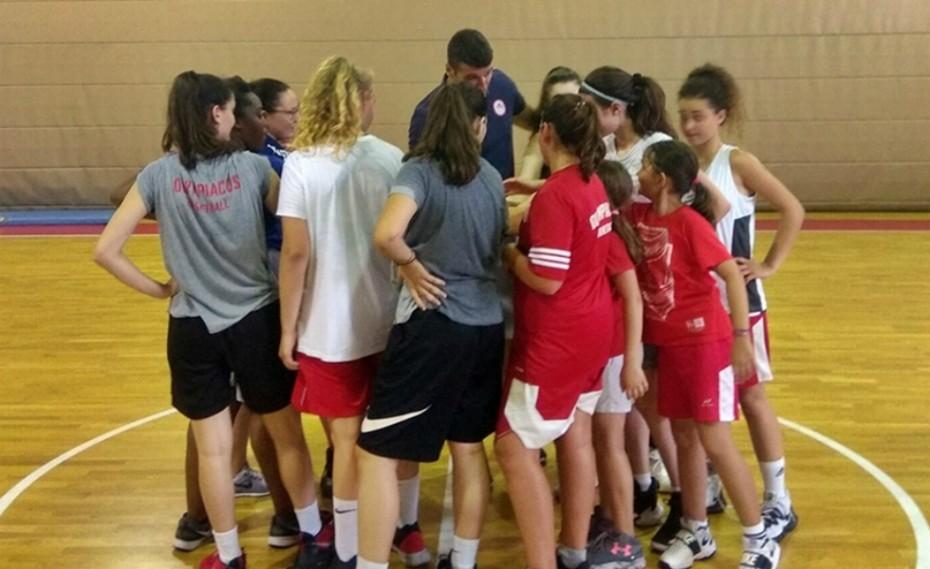 Φουλ δράση στο Basketball Summer Camp