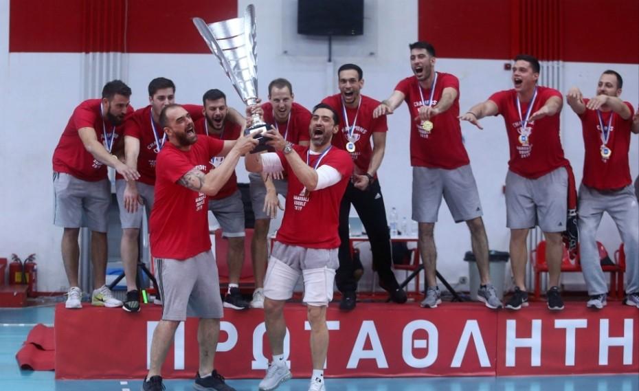 Νέο γήπεδο χάντμπολ για τον Ολυμπιακό!