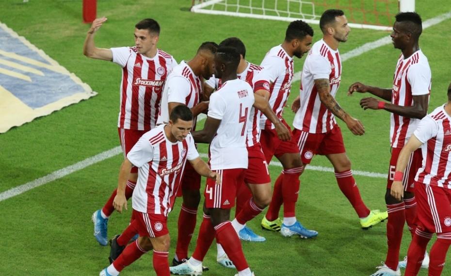 ΟΛΥΜΠΙΑΚΟΣ - Αστέρας Τρίπολης Live 1-0 (Τελικό)