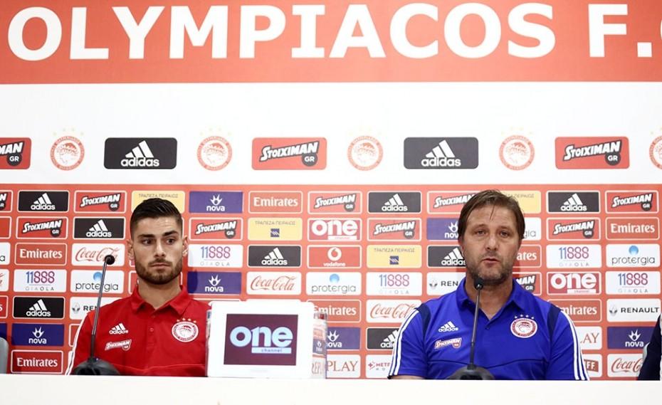 Η συνέντευξη Τύπου του Ολυμπιακού (vid)