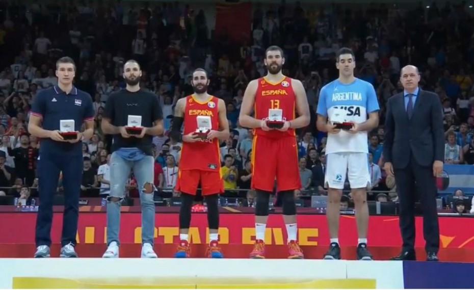 Η πολυτιμότερη 5άδα του Μουντομπάσκετ (vid)